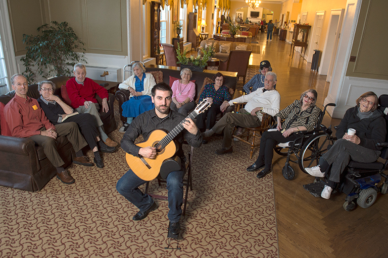 Getting In Tune With The Residents Senior Living News